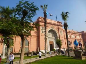 Das Ägyptische Museum am Tahrir-Platz in Kairo.