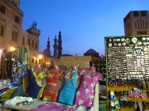 Der Basar in Kairo ist ein schier endloses Areal.