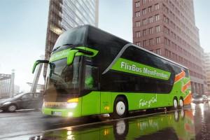 Unterwegs im grünen Bus. Foto: Flixbus MeinFernbus