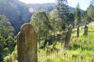 Friedhof mit Ausblick.