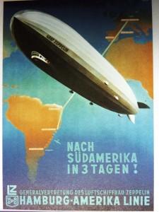 Mit einem Zeppelin schrieb Hugo Eckener Geschichte.