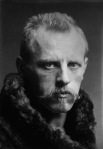 Fridtjof Nansen in jungen Jahren.