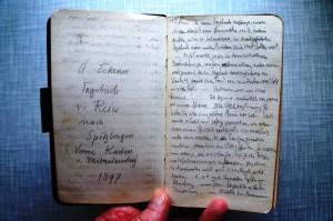 Das Spitzbergen-Tagebuch von Alex Eckener. (Texterfassung als Basis für diesen Artikel: Gudrun Wolter)