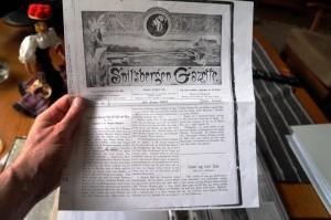 Spitzbergen Gazette.