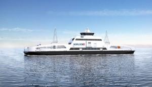 Die erste E-Fähre der Welt ist in Norwegen im Einsatz. - Foto: Norled