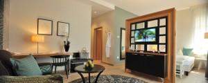 """Ein ganz neues Gepräge bekamen die Räume vom Erdgeschoss bis zum dritten Stock, hier die Suite """"La Stella""""."""