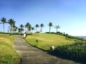 Der 5-Sterne-Golfplatz.