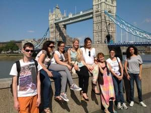 Spaß in der Gruppe - Englisch lernen in London. Foto: Sprachdirekt