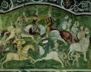 Schloss Runkelstein birgt den größten, erhaltenen, profanen Freskenzyklus Europas. - Foto: Verkehrsamt der Stadt Bozen