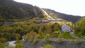 Vemork, das norwegische Industriearbeitermuseum in Rjukan. - Foto: Kristina Bieda