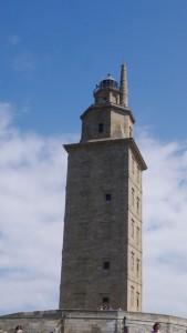 Der Herkulesturm von A Coruña.