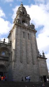 Kathedrale von Santiago de Compostela.