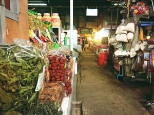Der Marktbesuch vor dem Kochkurs.