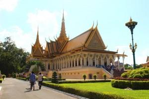 Der Königspalast in Phnom Penh.