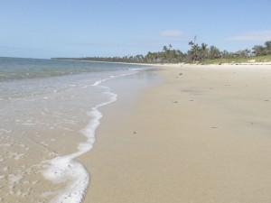 Der Strand in Tembo Kijani.