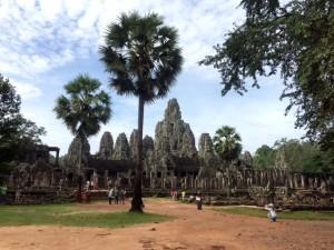 Der Tempel Bayon.