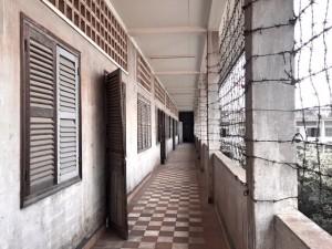 Tuol Sleng Museum in Phnom Penh.