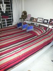 Mein Bett.