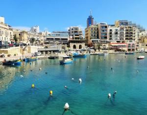 St. Julians. Foto: Maltalingua