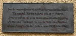 Erinnerung an den österreichischen Autor.