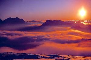 Wie gemalt - ein Sonnenaufgang ist ein besonderes Naturschauspiel. - Foto: Tourismusverband Trevalli