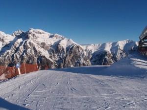 Das Eisacktal bietet ausreichend Platz - breite Pisten machen es möglich. - Foto: Hans Herbert Holzamer