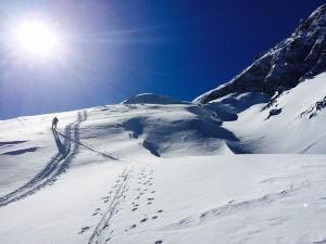 Traumhafte Routen findet der Tourengeher im Berchtesgadener Land vor. - Foto: Kunz PR