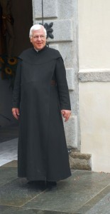 Pater Piri vom Kloster Disentis.