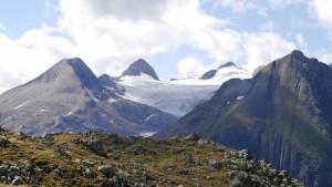 Langsam aber sicher stirbt der Rhone-Gletscher.