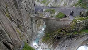 Die Teufelsbrücke.