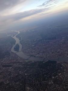Budapest von oben.