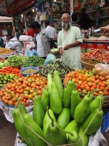 Geschäftstüchtige Bangladescher.