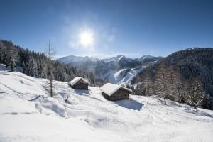 Eine Winterlandschaft wie gemalt – Altenmarkt-Zauchensee gilt als sehr schneesicher. - Foto: Altenmarkt-Zauchensee Tourismus