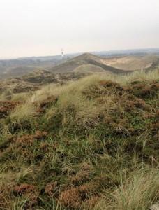 110 Stufen gilt es zu bewältigen, um auf die fast 53 Meter hohe Uwe-Düne westlich von Kampen zu gelangen. Bei klarem Wetter reicht die Aussicht bis zur dänischen Nordsee-Insel Rømø.