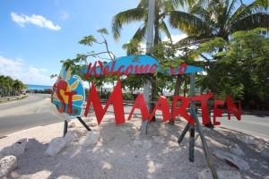 Willkommen in Sint Maarten.