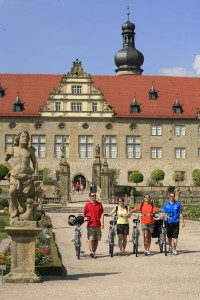 """Weikersheim ist immer einen Besuch wert. - Foto: Tourismusverband """"Liebliches Taubertal""""/Peter Frischmuth"""