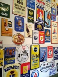 Ein Sammelsurium an Erinnerungen findet sich im Brauerei-Museum. - Foto: Brauerei Gebr. Maisel