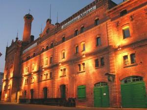 Die Brauerei der Gebrüder Maisel ist ein stattlicher Backsteinbau. - Foto: Brauerei Gebr. Maisel