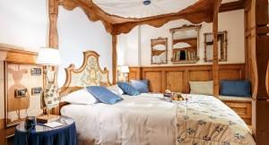 "Das Doppezimmer ""Sissi"" im Hotel Ambra Cortina. Foto: Hotel Ambra"