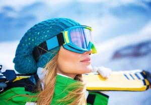 Beim Skifahren kommt es auch auf die richtige Ausrüstung an. Foto: