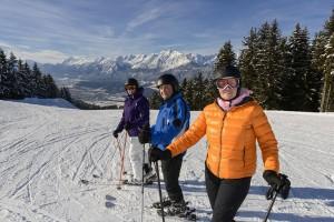 Die Silberregion Karwendel bringt Junggebliebene zurück auf die Bretter. - Foto: TVB Silberregion Karwendel