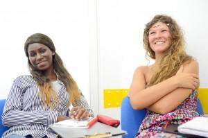 Im Klassenzimmer bei Maltalingua.
