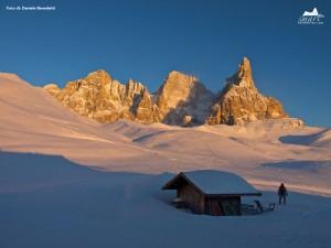 Sonnenaufgang in den Bergen von San Martino di Castrozza. - Foto: Daniele Benedetti