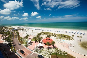 Auch sehr sehenswert in Florida: Clearwater Beach - der schönste Strand Amerikas. - Foto: Visit St.Pete/Clearwater