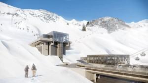 So soll die Talstation Alpe Rauz aussehen. - Foto: Flexenbahn GmbH