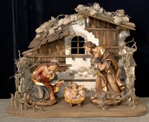 Die Holzschnitzkunst hat im Grödnertal eine Jahrhunderte lange Tradition. – Foto: Val Gardena/Gröden Marketing
