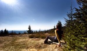 Entspannung pur nach einer ausgiebigen Wanderung tut richtig gut. - Foto: Ferienregion Nationalpark Bayerischer Wald