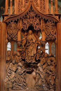 In der Herrgottskirche in Creglingen steht der Herrgottsaltar von Tilman Riemenschneider. - Foto: TLT/Peter Frischmuth