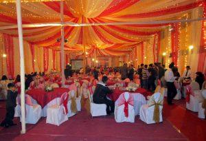 Feier zum 20. Hochzeitstag in Bangladesch - pompös.