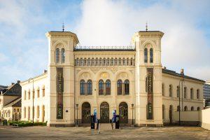Das Nobel Peace Center in Oslo erinnert an den Journalisten Carl von Ossietzky. - Foto: Nobels Fredssenter Johannes Granseth